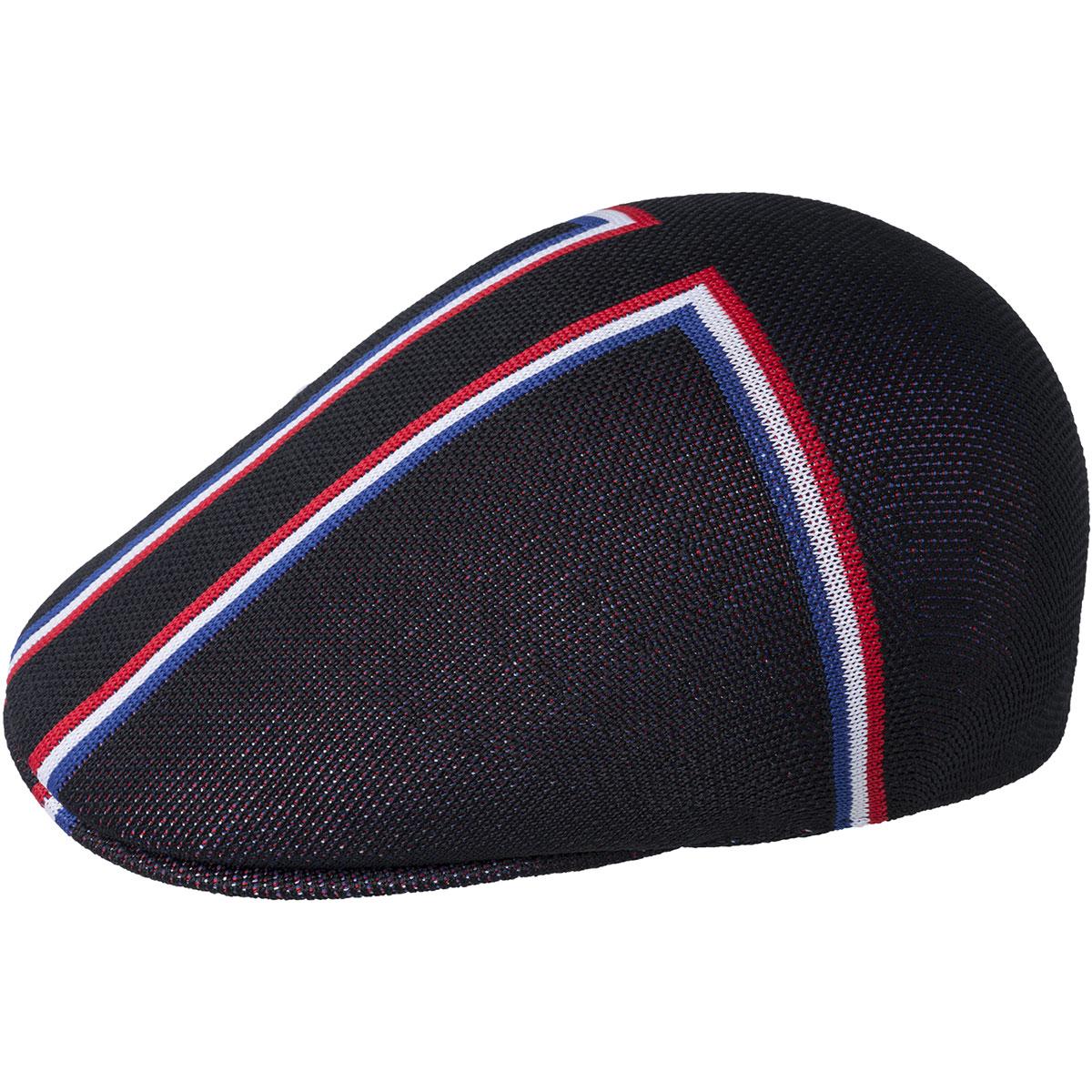 Black KANGOL Angle Stripe 507 Cap Style K3308HT