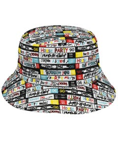 Mix Tape Reversible Bucket