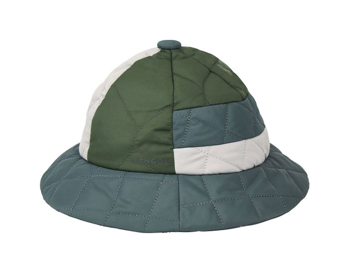 59874f14eff0fe The Quilted Mix Casual is a water resistant Bucket that features quilting  and padding for warmth. The fabric is ultra soft & the hat can be folded or  ...
