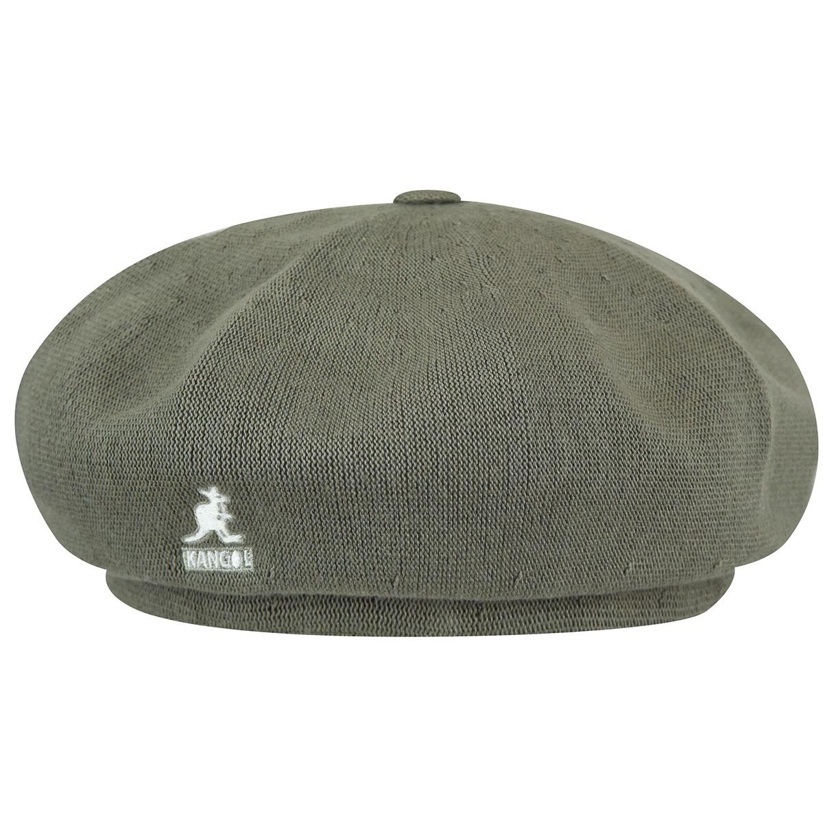 Unisex Kangol Black Bamboo Jax Beret Hat