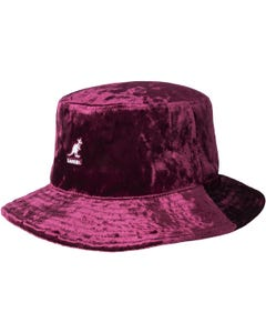 Crushed Velvet Rap Hat