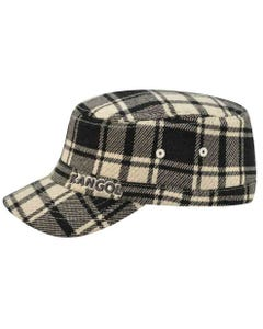 Kids Twill Stitch Plaid Flexfit Army Cap