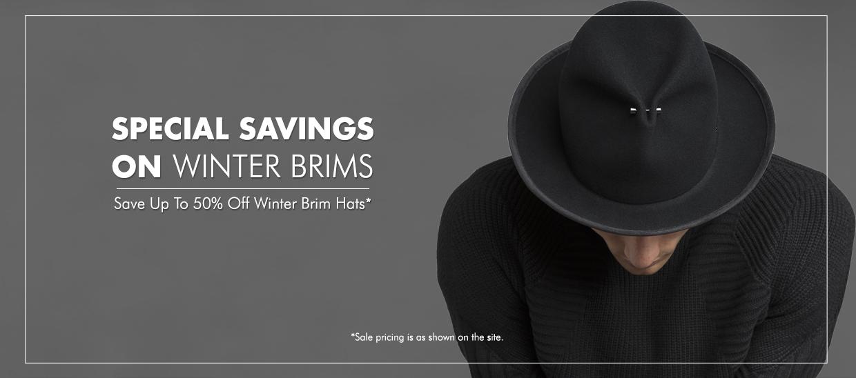 Winter Brims Sale