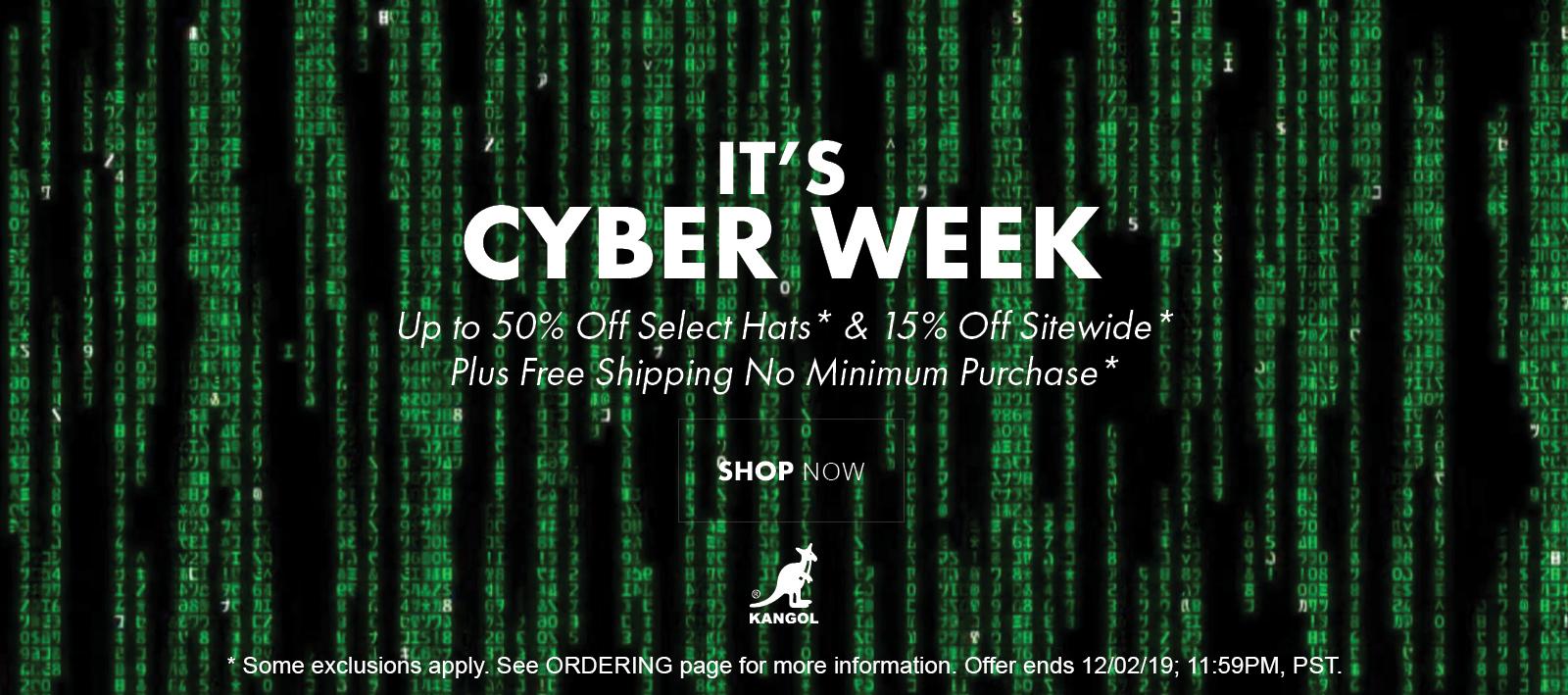 It's Cyber Week!