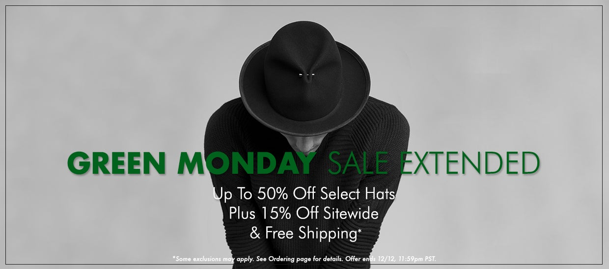 Green Monday Sale Extended