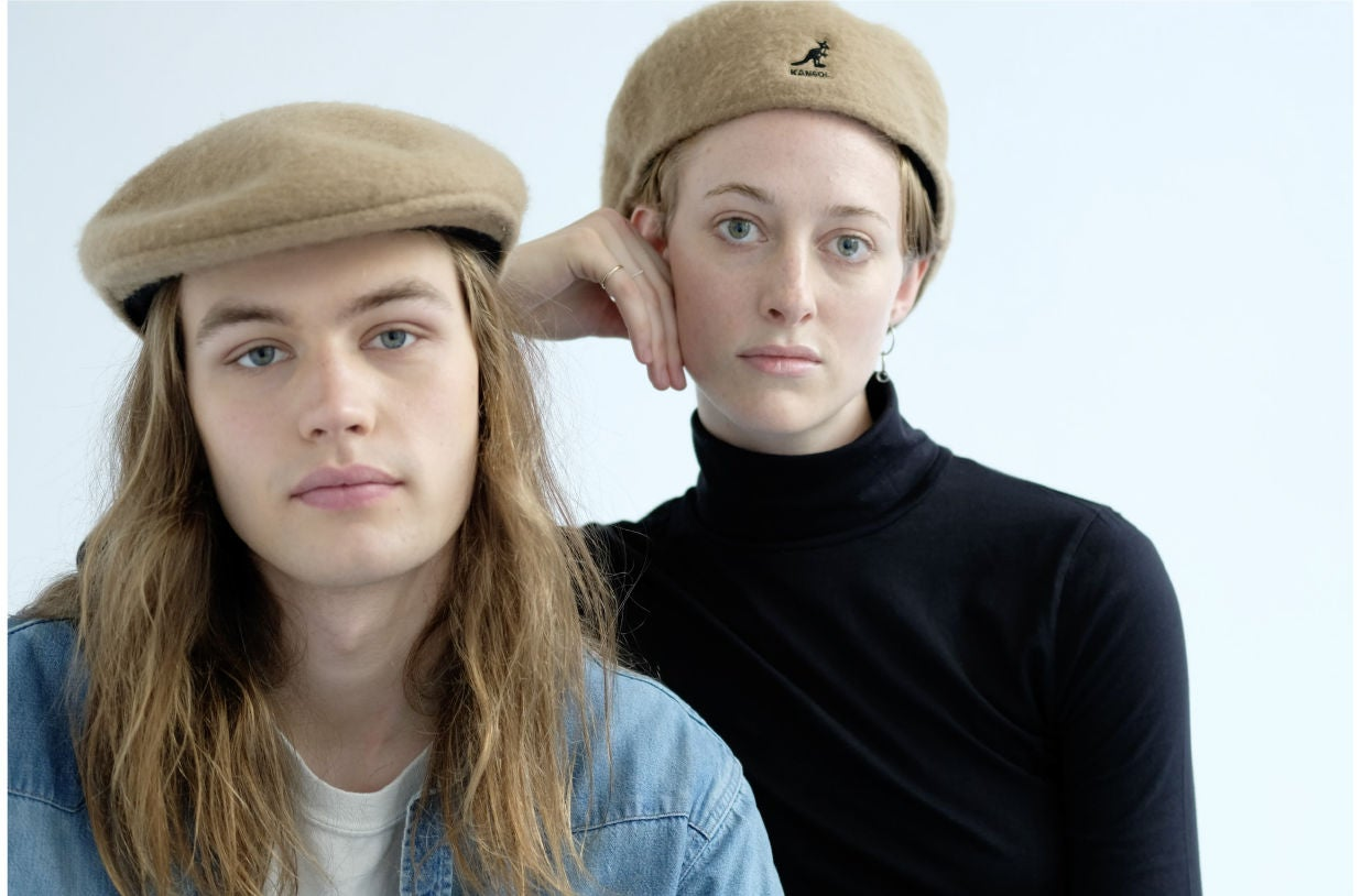 Models wearing the USA Woollux 504